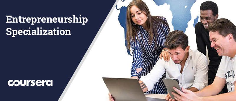 Entrepreneurship Specialization By Wharton School[Coursera]