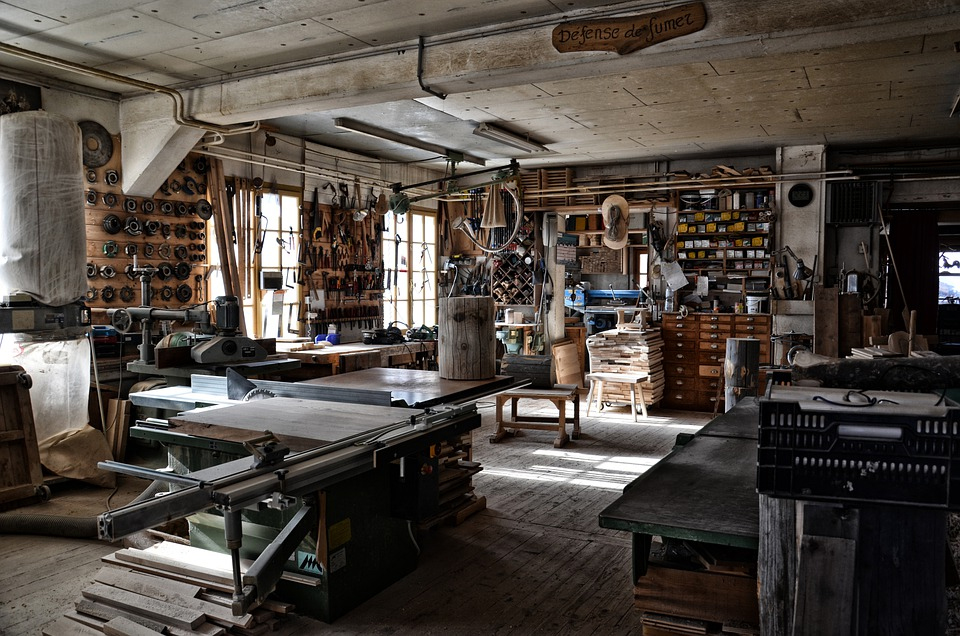 What preparation do you need for working in a workshop?