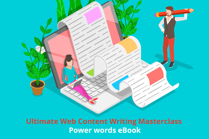 Ultimate Web Content Writing Masterclass + Power words eBook [Udemy]