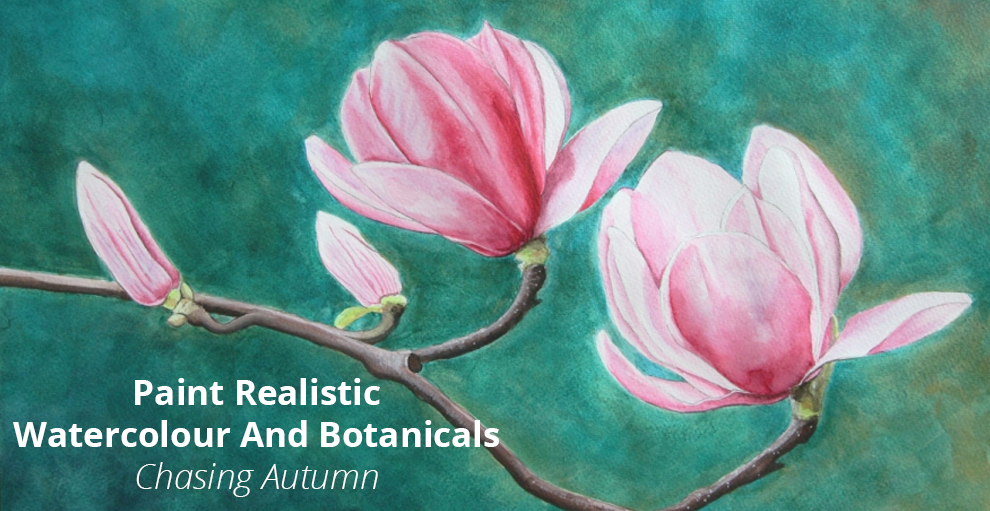 Paint Realistic Watercolour and Botanicals - CHASING AUTUMN - Udemy