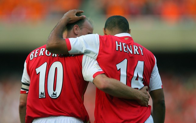 Thierry Henry & Dennis Bergkamp