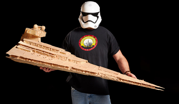 Stan Munro - Largest Imperial Star Destroyer with Toothpick