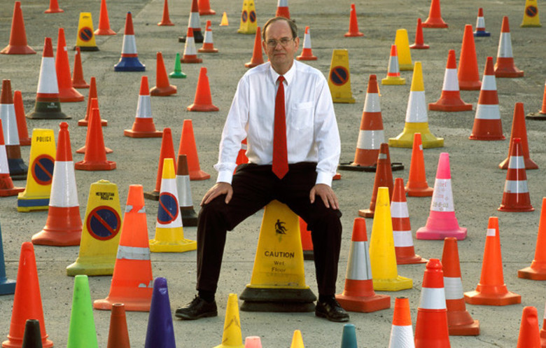 David Morgan - The Largest Collection of Traffic Cones