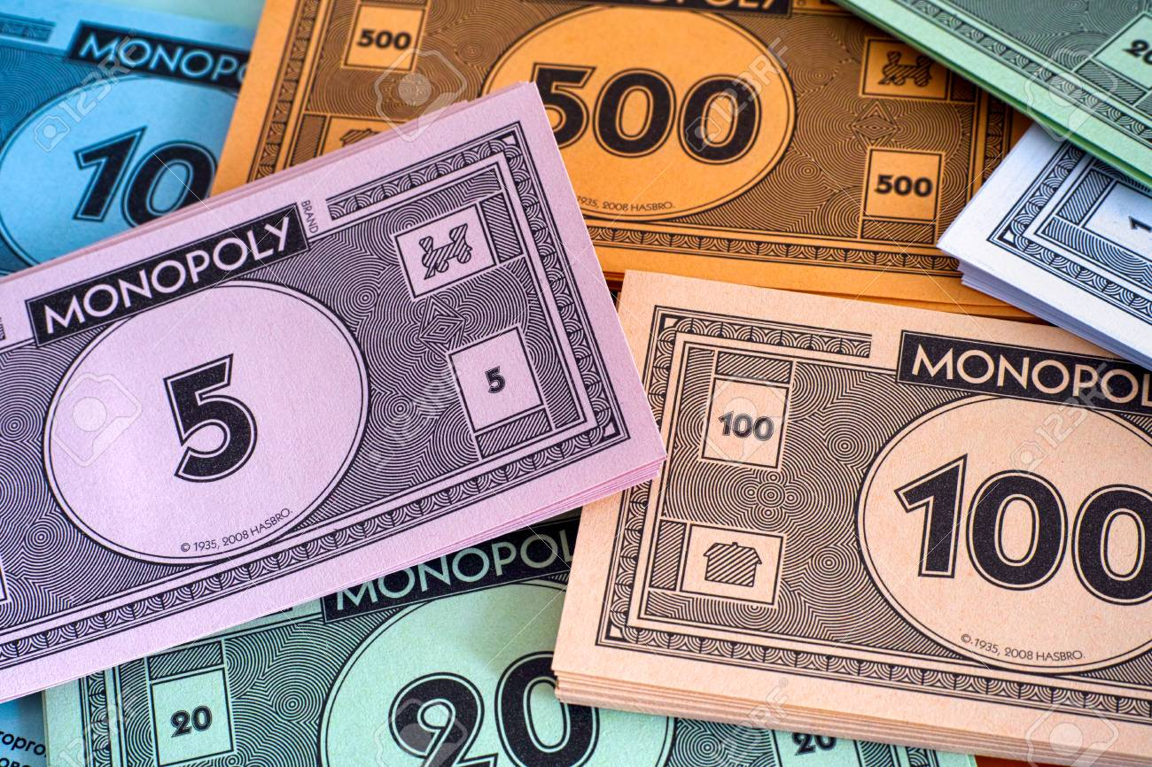 Everyday, more money is printed for Monopoly sets than for the U.S Treasury.