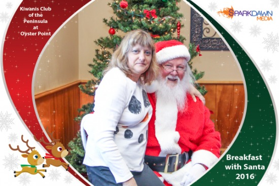2016 Breakfast with Santa - Kiwanis Club