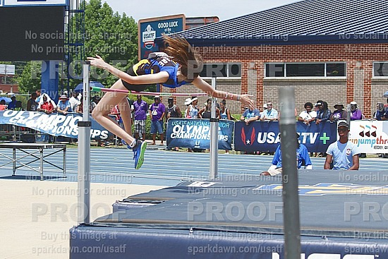 High Jump - Final 15-16 Girls