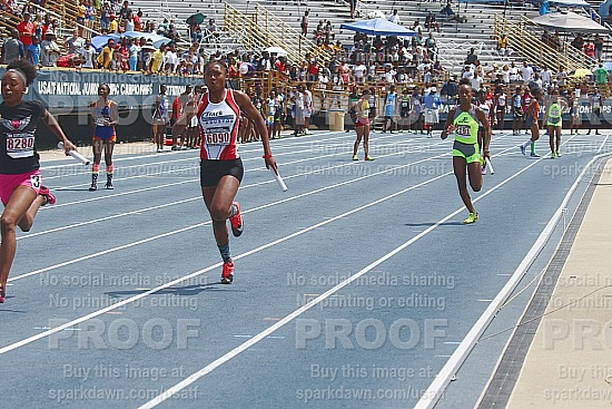 4x100Relay - Final 13-14 Girls