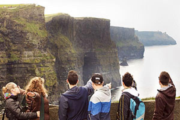 Иллюстрация к цели Посетить курсы английского языка в Ирландии