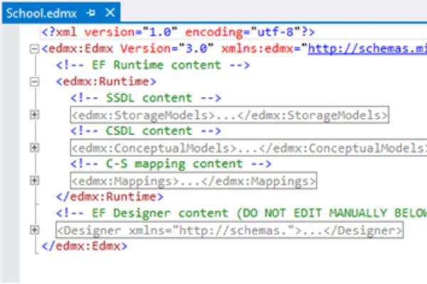 Иллюстрация к цели Создать прототип программы, работающей с СУБД через EF