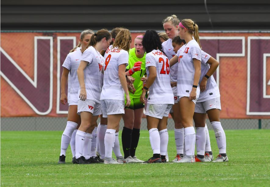 Virginia Tech Women's Soccer Ties #22 Georgetown 1-1