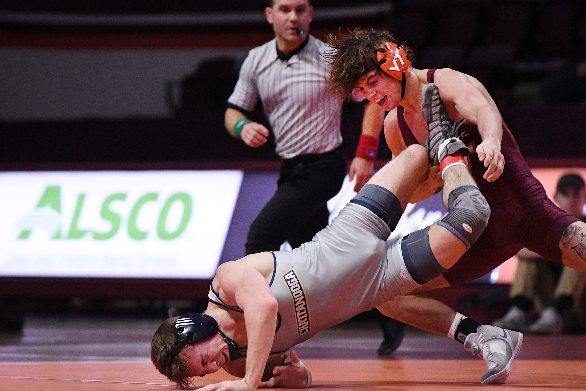 Bryce Andonian is Becoming a Force for Virginia Tech Wrestling