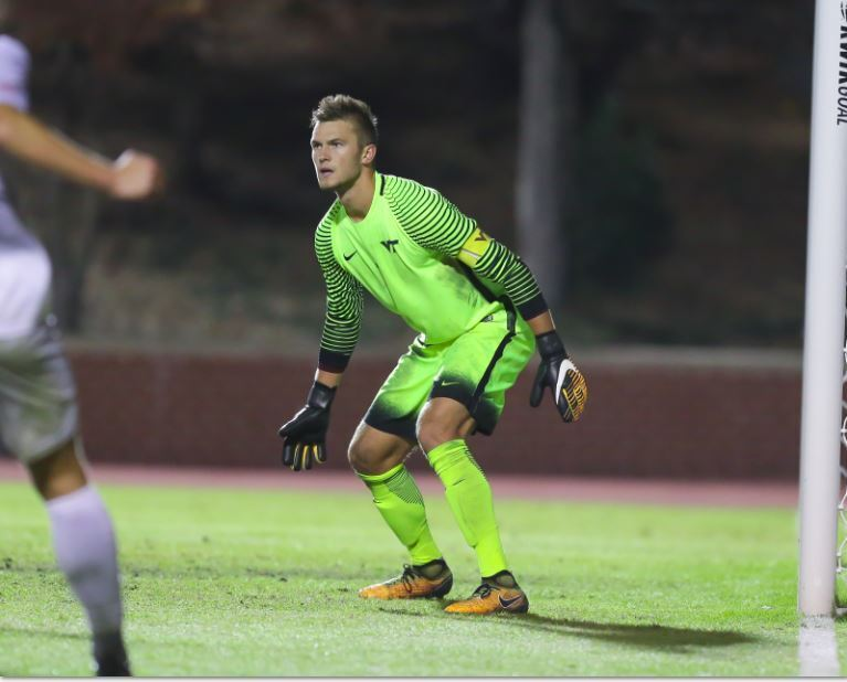 Virginia Tech GK Ben Lundgaard Selected 21st Overall by Columbus Crew in MLS SuperDraft