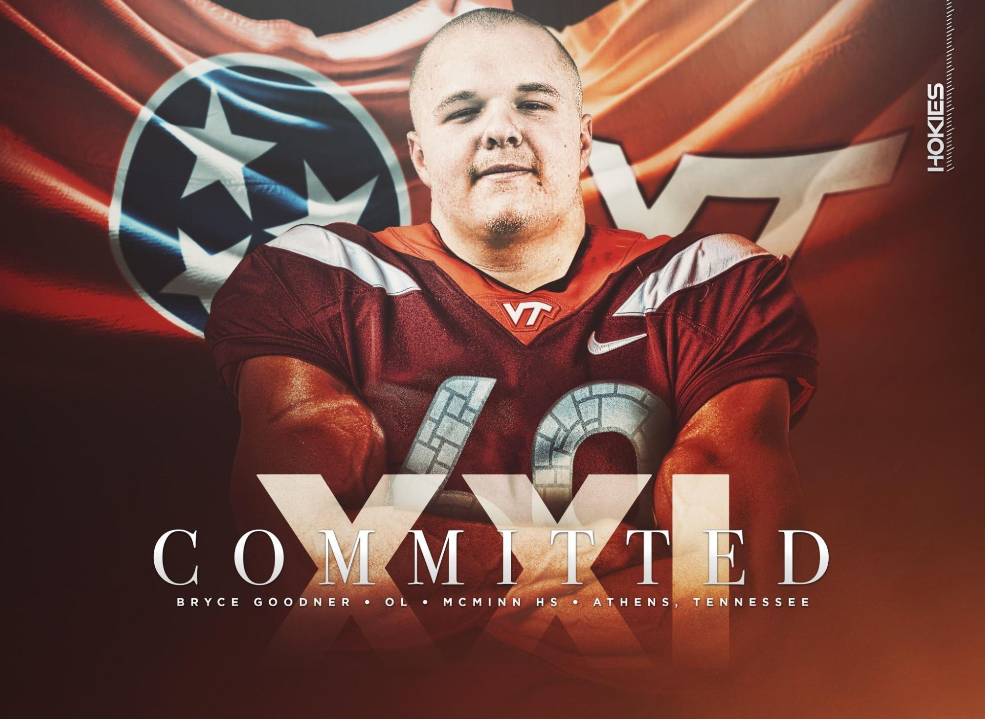OL Bryce Goodner Commits to Virginia Tech