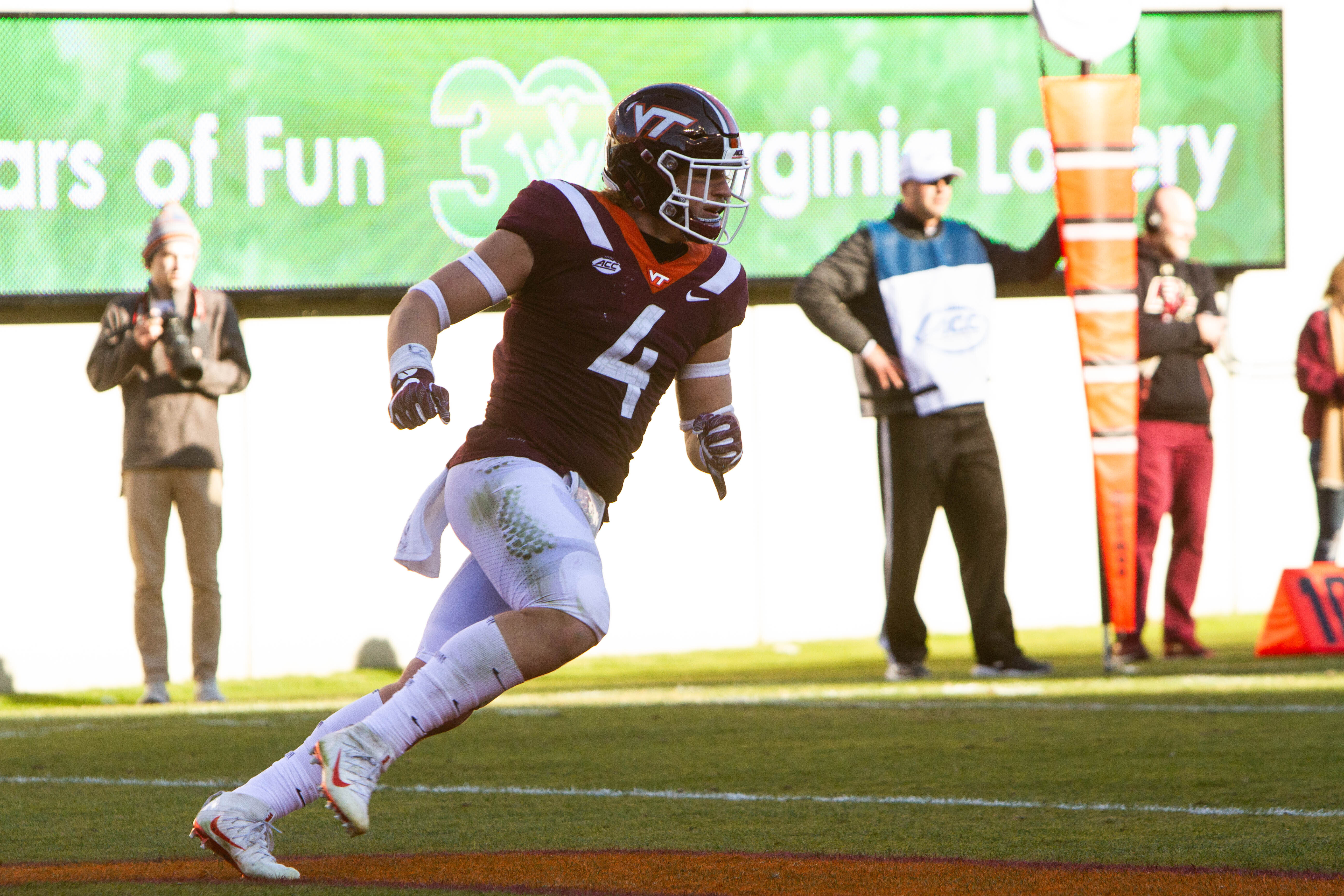 Jalen Holston, Dax Hollifield are the Hokies of the Game Against #9 Miami