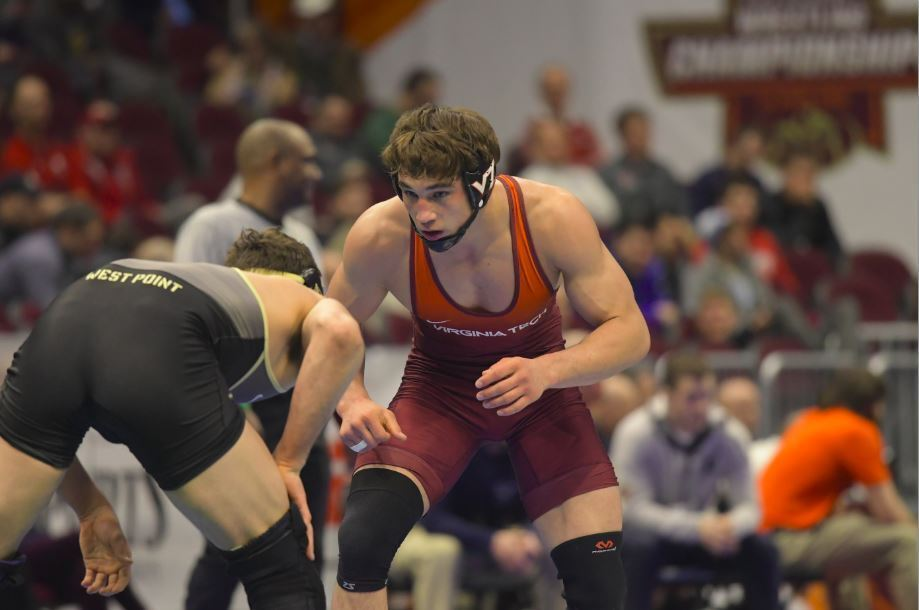No. 5 Virginia Tech Wrestling Beats No. 24 Central Michigan 20-16