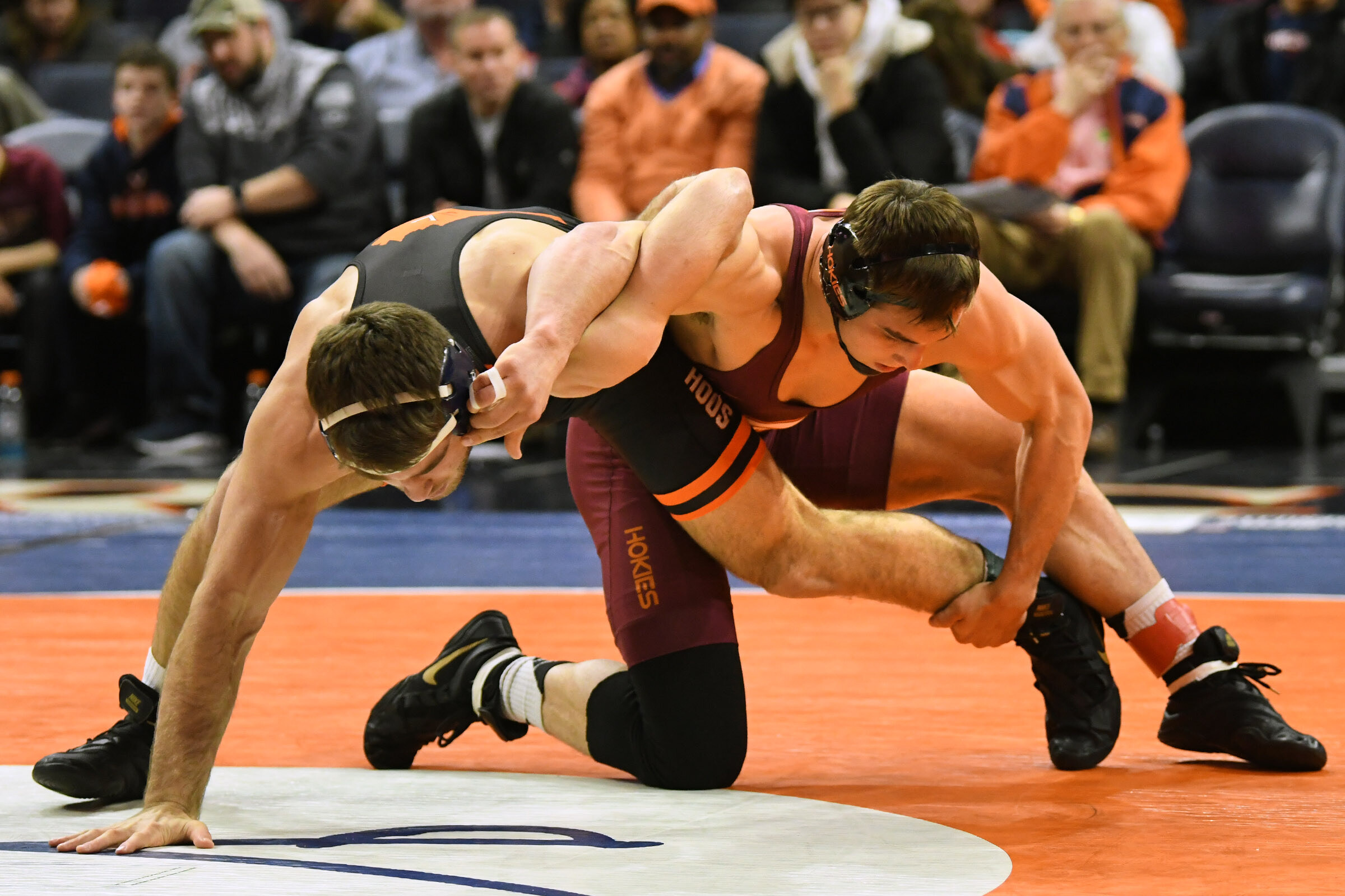 Hunter Bolen Wins 184 Title as Virginia Tech Wrestling Finishes Fifth at ACC Championships