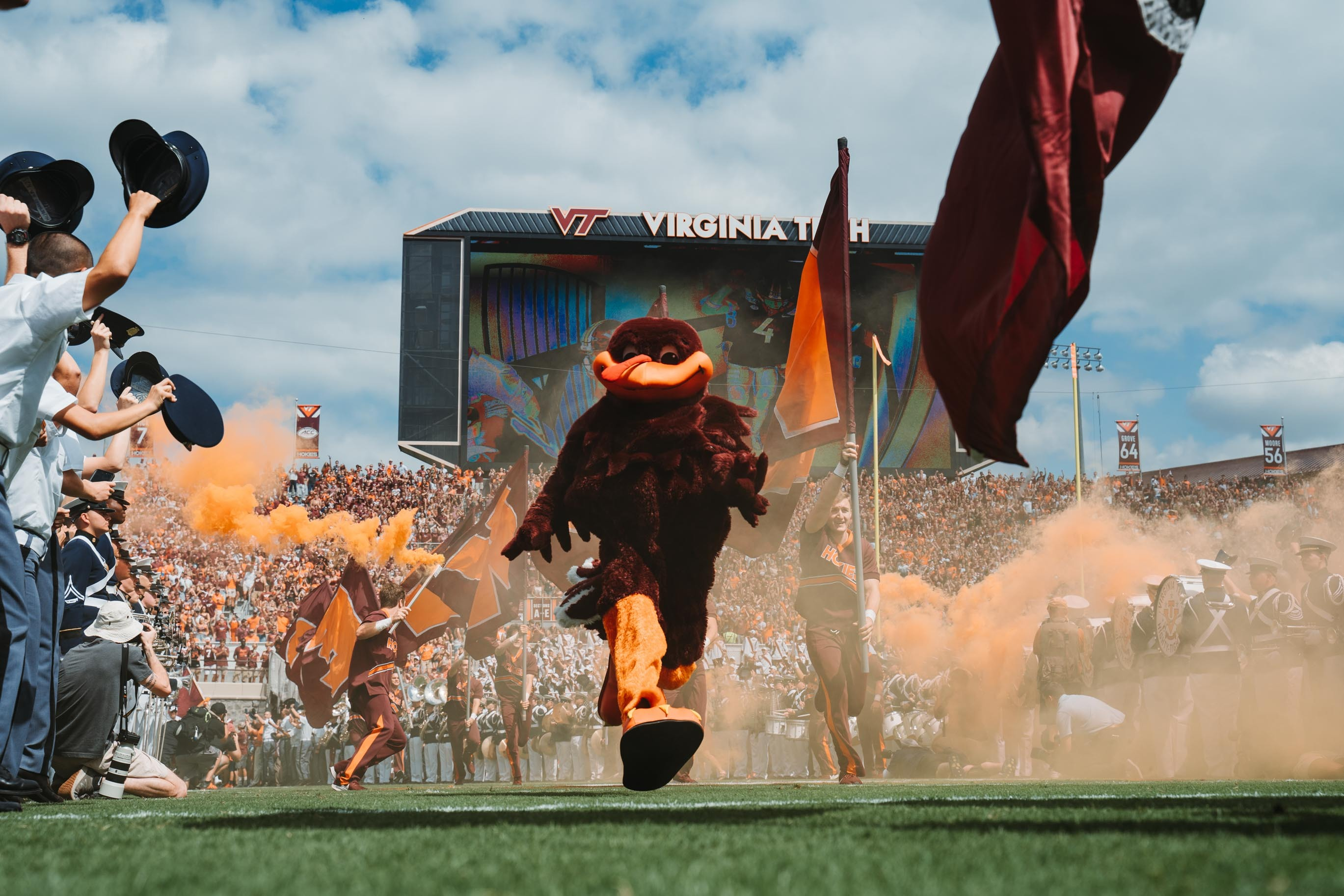 Virginia Tech Football Reveals Uniforms For 2019 Commonwealth Cup Against Virginia