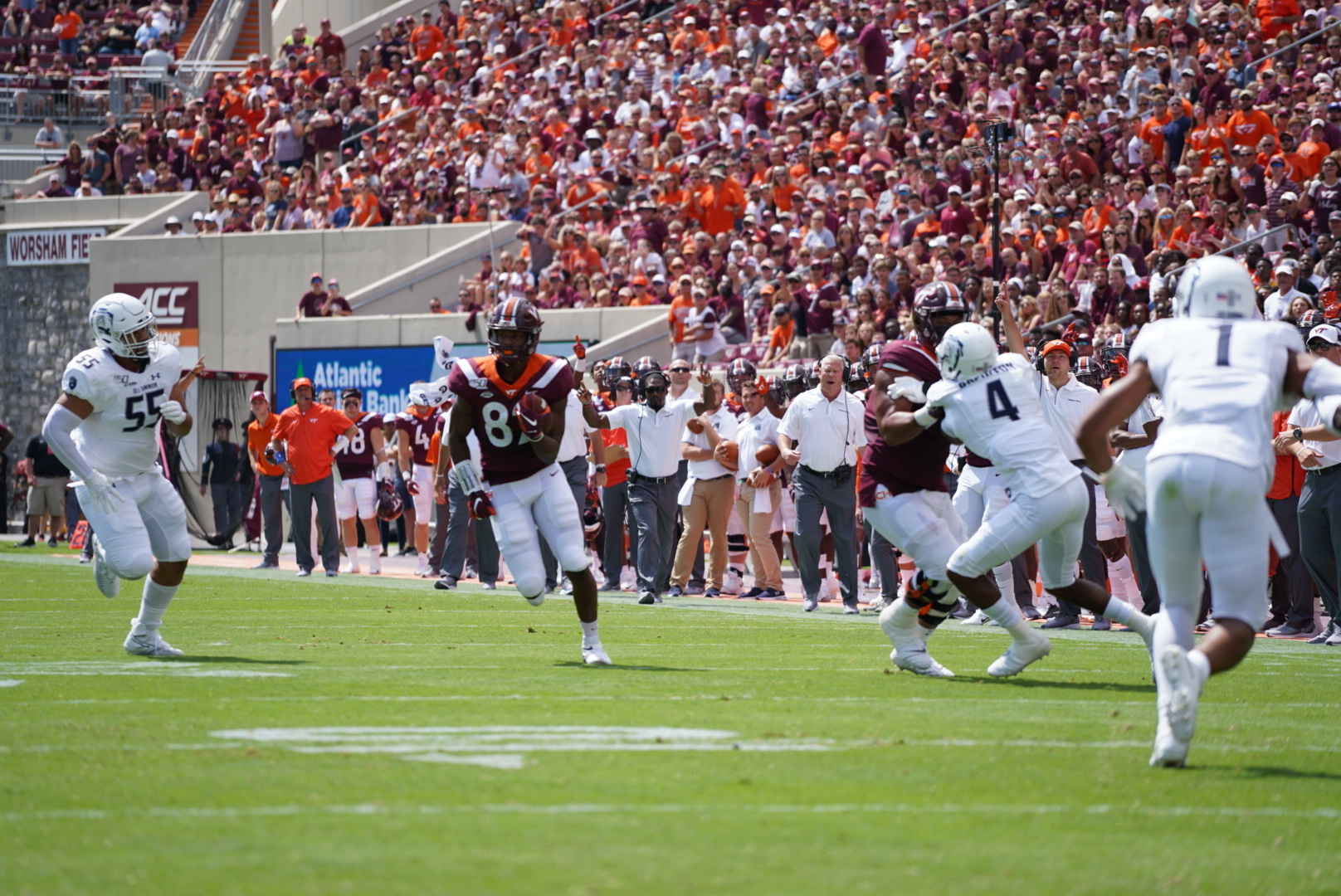 Tight Ends, Chamarri Conner are the Hokies of the Game Against Miami