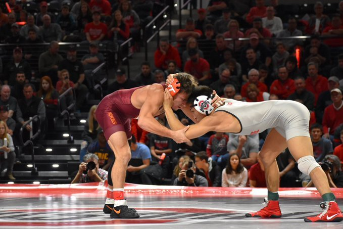 No. 11 Virginia Tech Wrestling Upsets No. 3 Ohio State 21-15