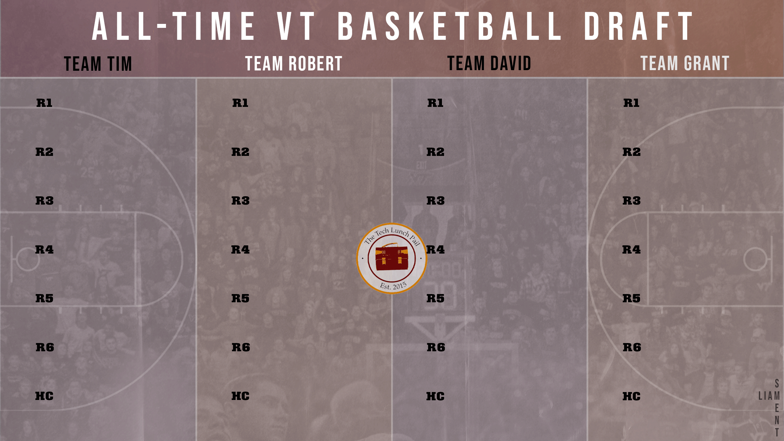 The All-Time Virginia Tech Basketball Draft Details