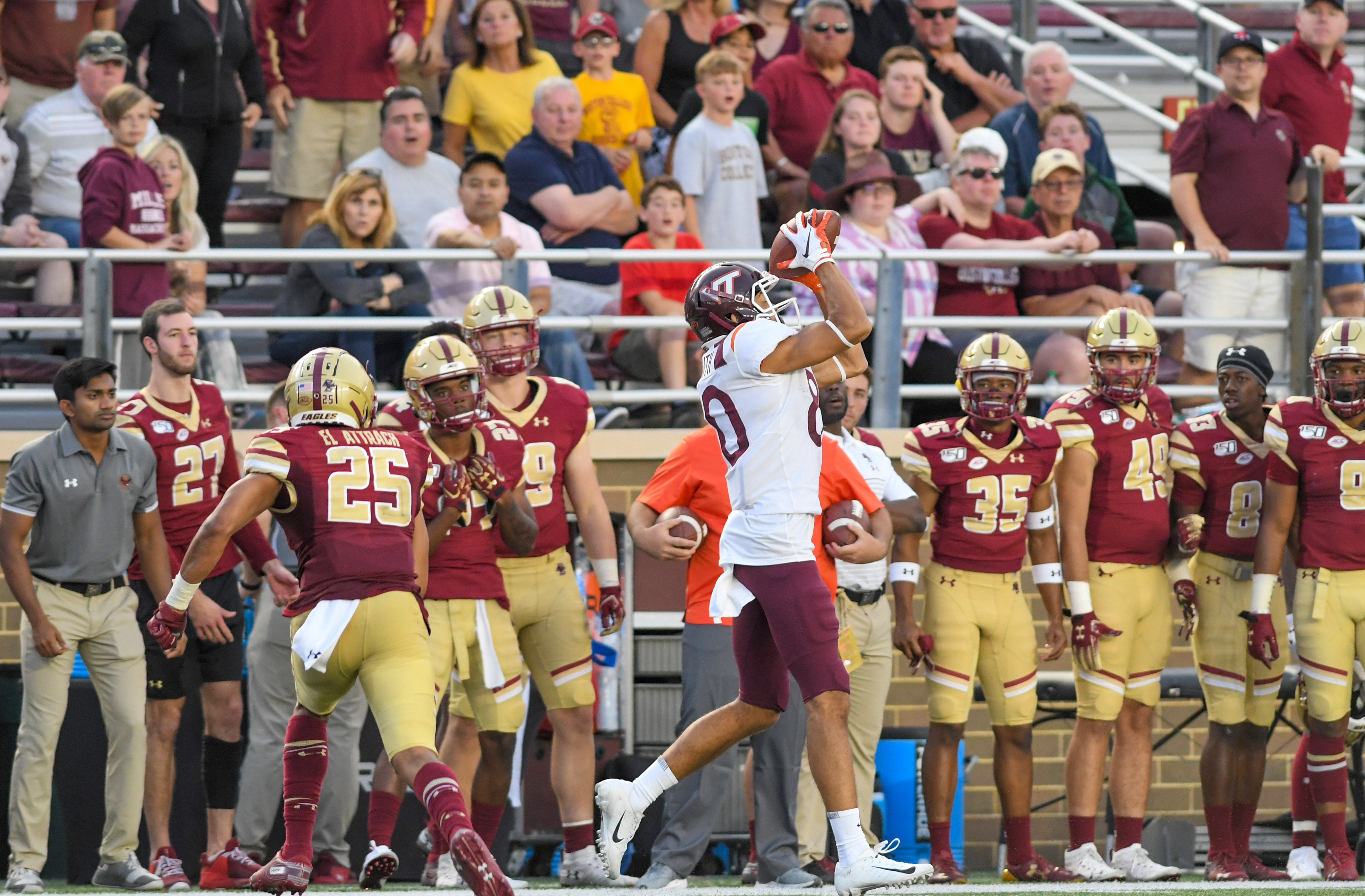 Three Offensive Depth Chart Surprises For Virginia Tech Ahead of N.C. State Game