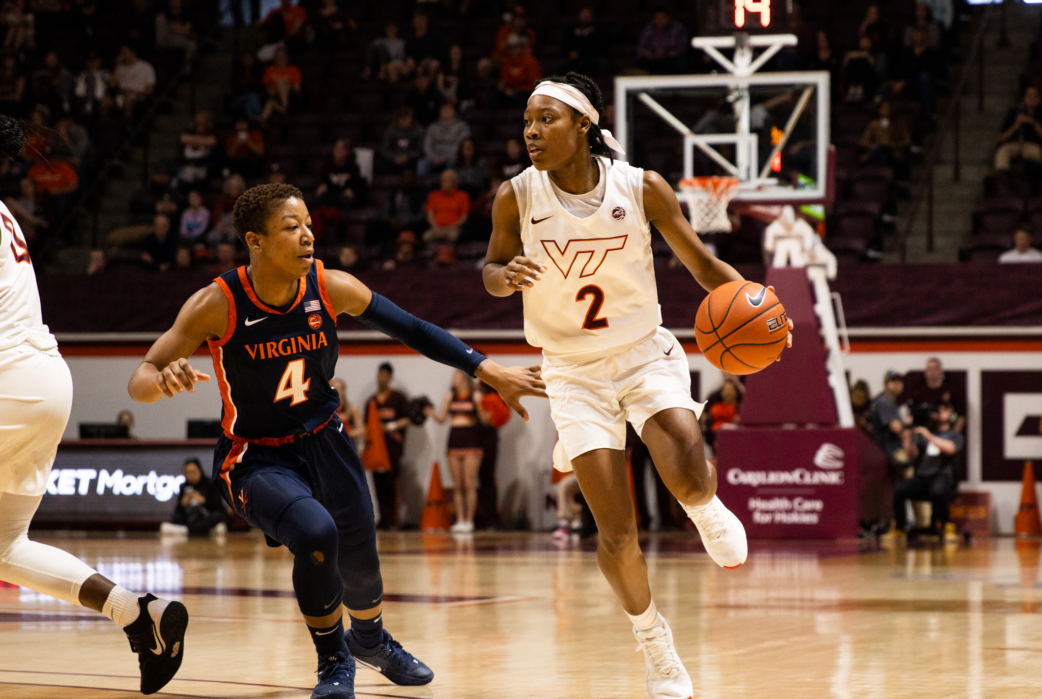 Virginia Tech WBB Upsets #2 N.C. State 83-71