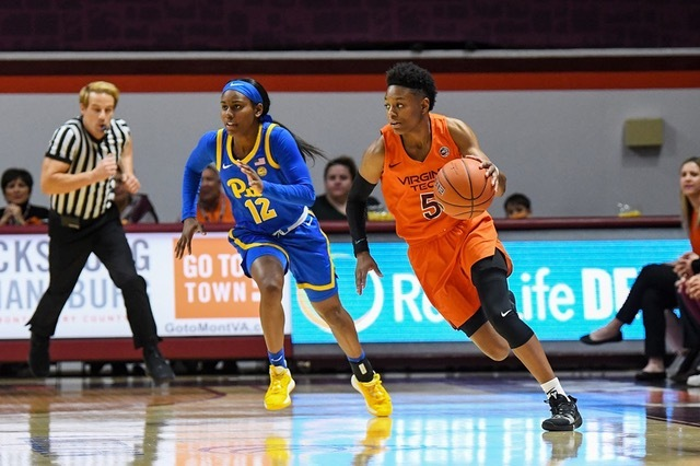 Virginia Tech Women's Basketball Beats Pittsburgh 68-56