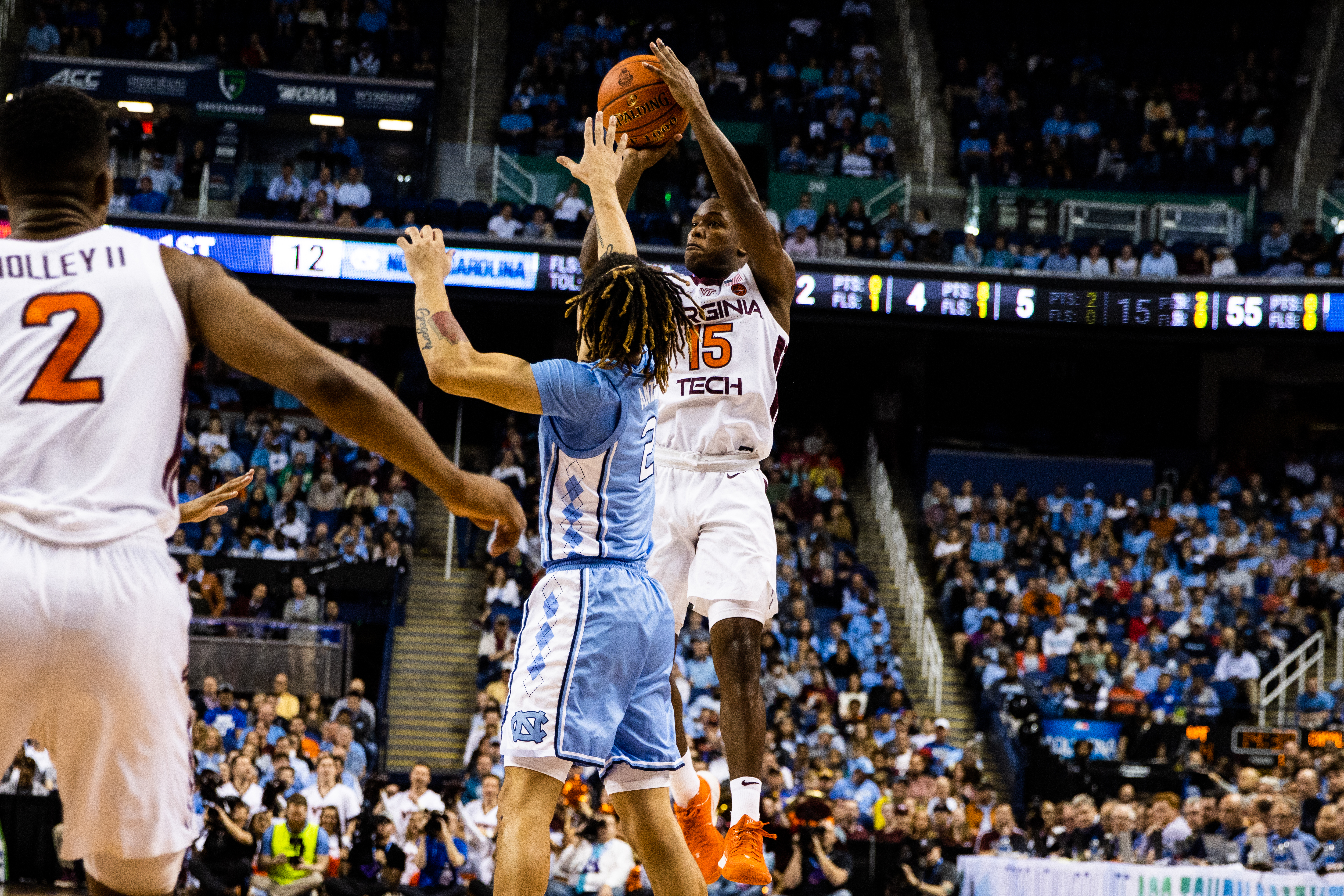 Virginia Tech Loses to North Carolina 78-56 in the First Round of the 2020 ACC Tournament