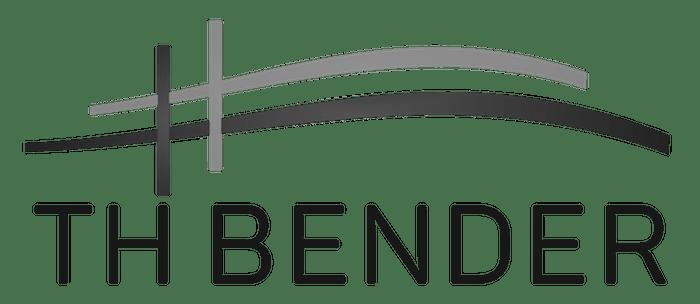 Logo Black and White TH Bender
