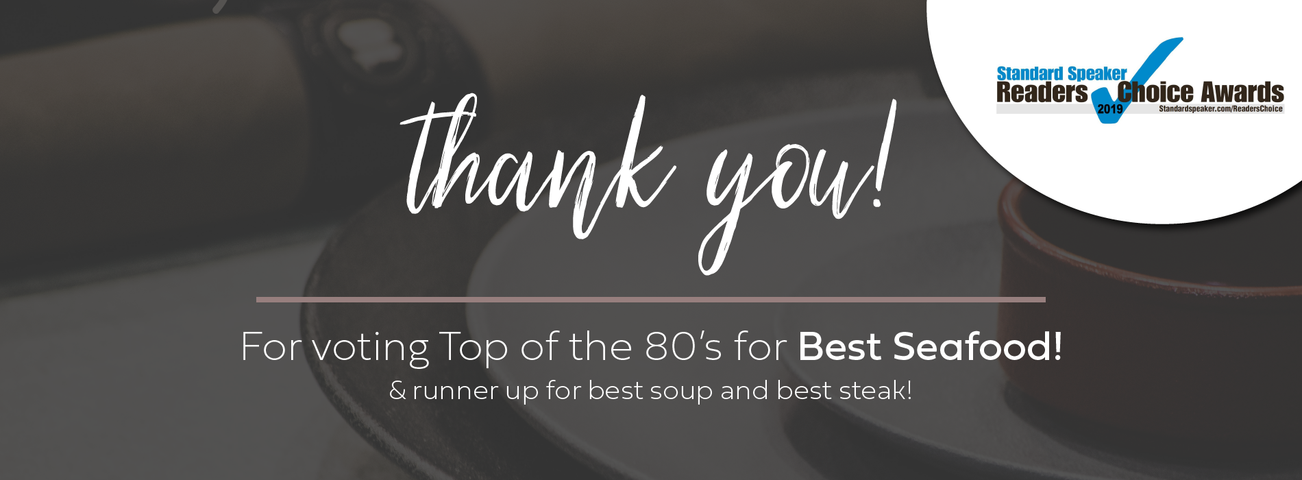 Top of the 80's | Fine Dining Restaurant