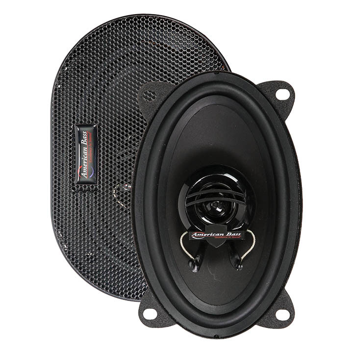 """American Bass Symphony 4x6"""" Two Way high quality speaker  for car  ,2021"""