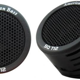 """American Bass 1"""" tweeter (sold in pairs), Best Tweeter Speakers for  Car 2021"""
