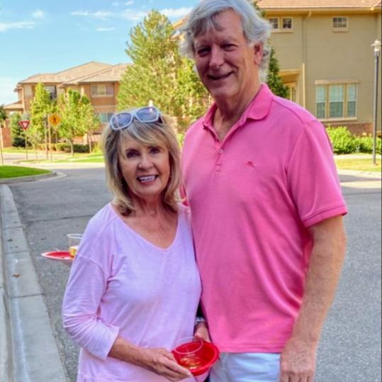 <p>Karen and Bill</p>, <p></p>