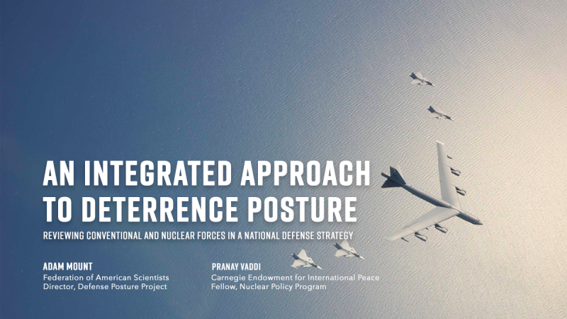 An Integrated Approach to Deterrence Posture