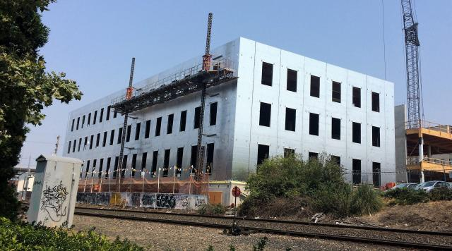 120 Clay Office Building Panelization