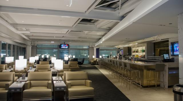 United Club at O'Hare International Airport