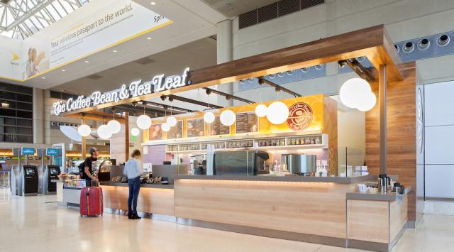 Coffee Bean & Tea Leaf at LAX
