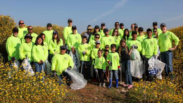 San Diego Marine Clean-up
