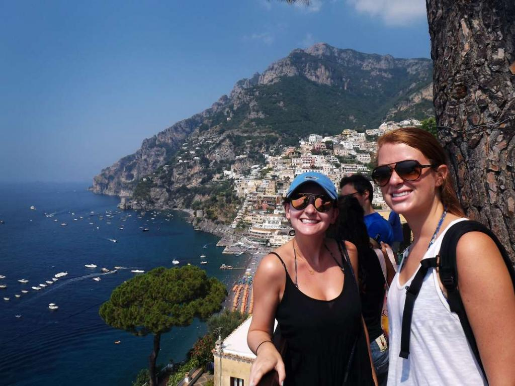 High school travelers explore the Amalfi Coast on their summer teen tour to Italy.