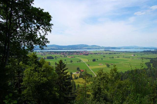 View of Swiss Alps seen during summer teen adventure travel tour