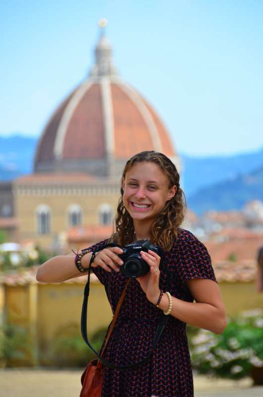High school student captures Florence on their summer teen tour in Italy.