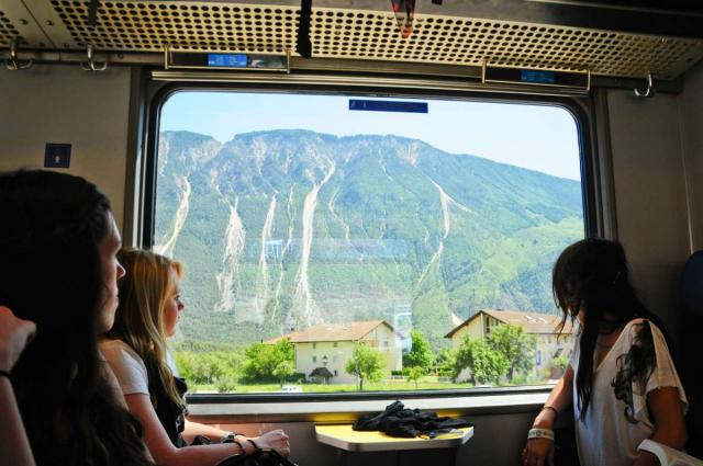Teen travelers ride train across Europe on summer travel program