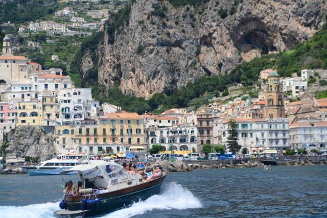 High school student captures the beauty of the Amalfi Coast on their teen tour to Italy.