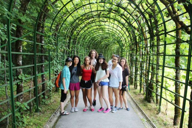 Teens explore European park on summer youth travel program