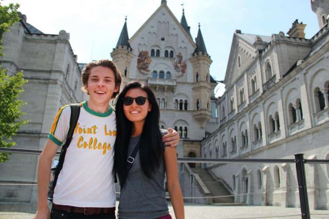 Teens explore Bavarian castle on summer youth travel program
