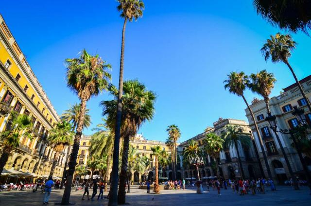 View of Barcelona in Spain from a teen travel tour