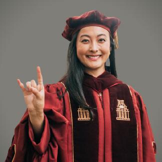 Portrait of Michelle Zhang