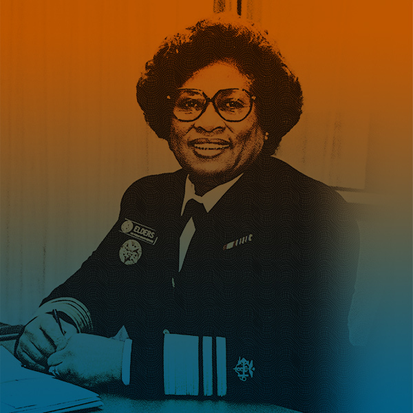 Former U.S. Surgeon Gen. Joycelyn Elders