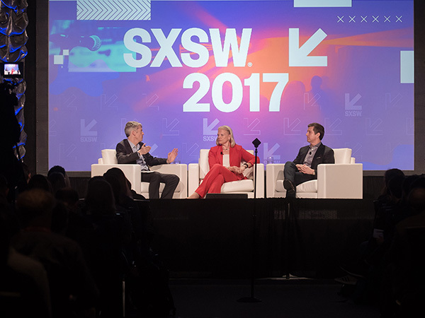CEOs from IBM and Johnson & Johnson talk with the dean of Dell Med at South By Southwest about the convergence of health and IT.