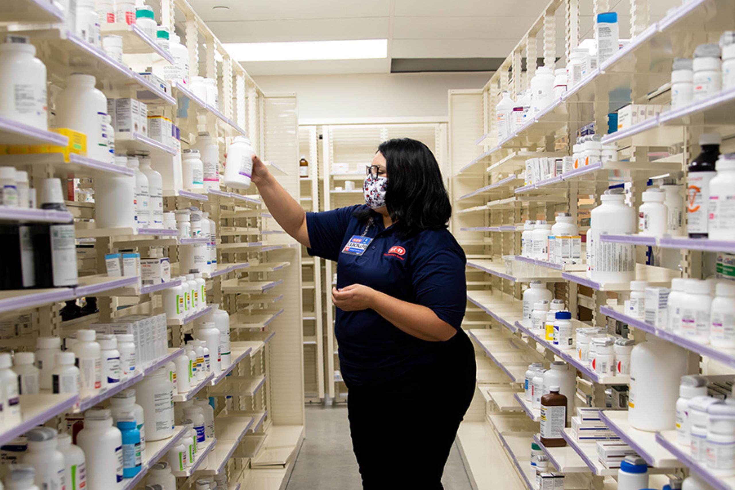 Pharmacist at on-site H-E-B pharmacy